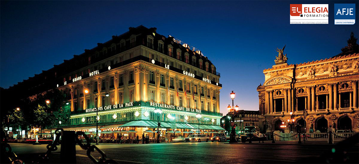 30 Septembre 2020 Grand Hôtel Intercontinental Opéra - Paris